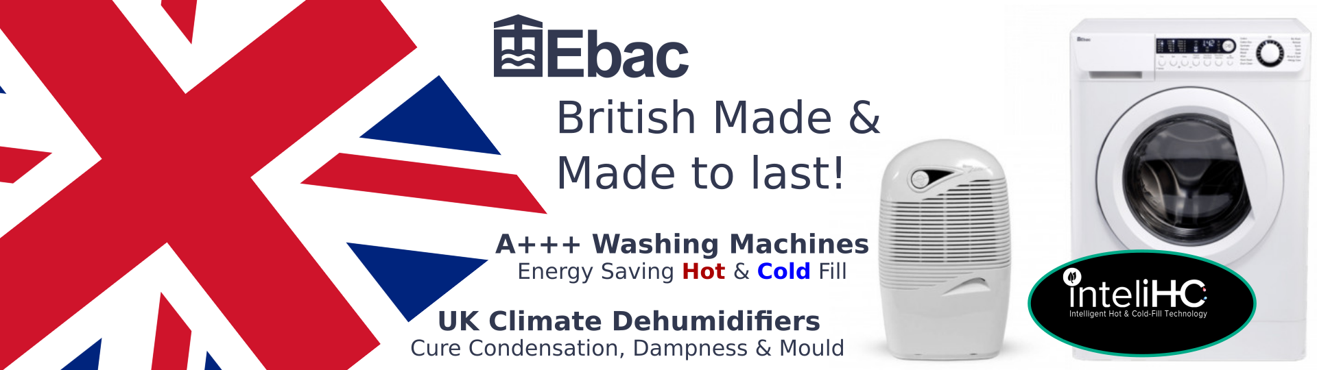 Ebac Washing Machines & Dehumidifiers