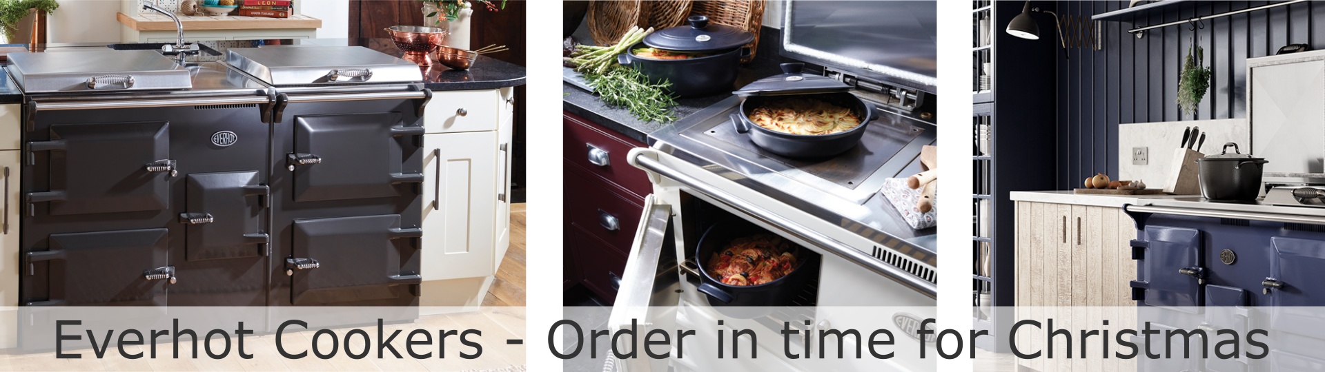 Everhot cookers West Wales Christmas