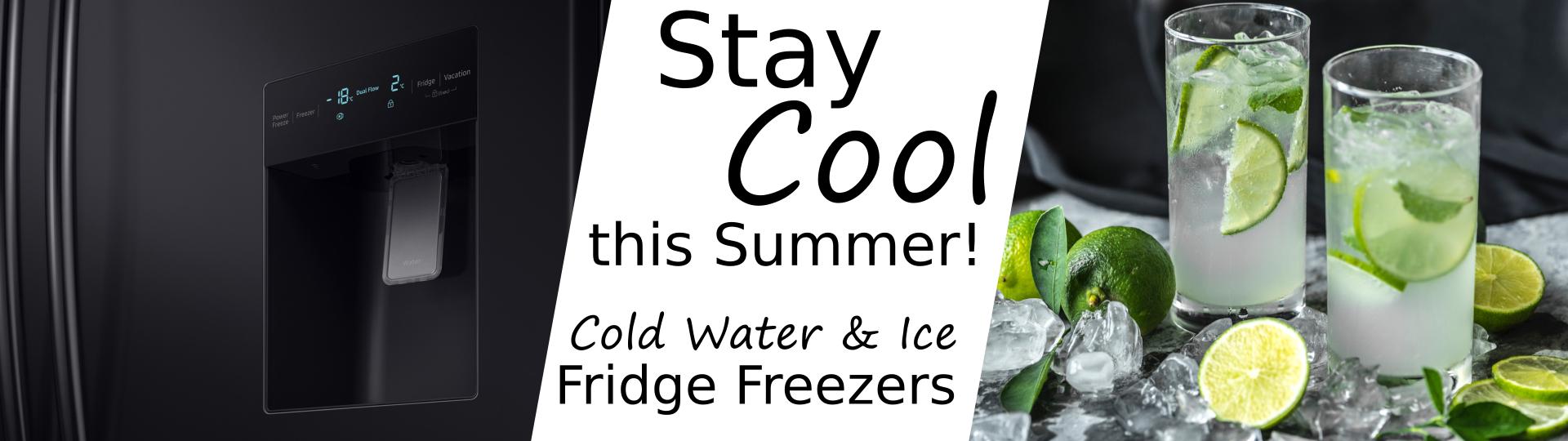 Fridge Freezers Ice & Water Dispensers