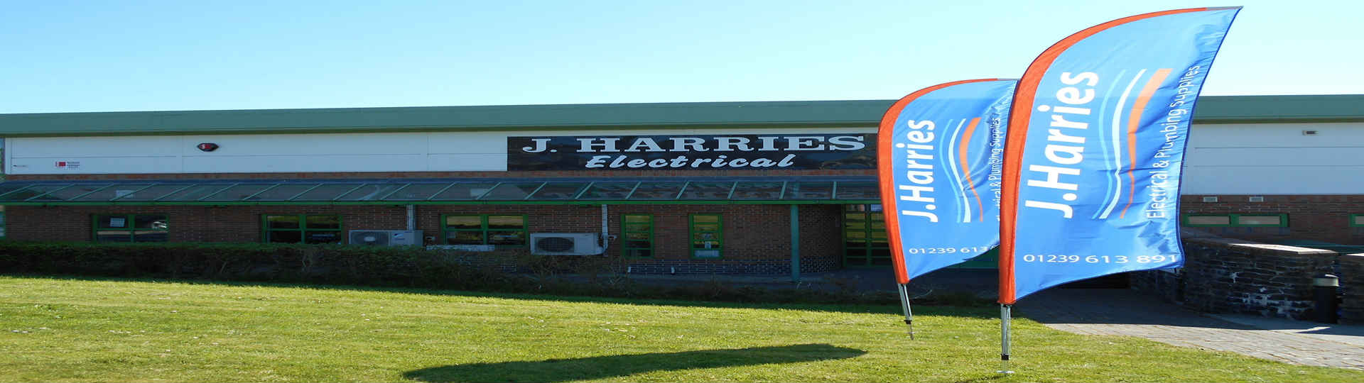 J Harries Electrical & Domestic Appliance Shop Cardigan