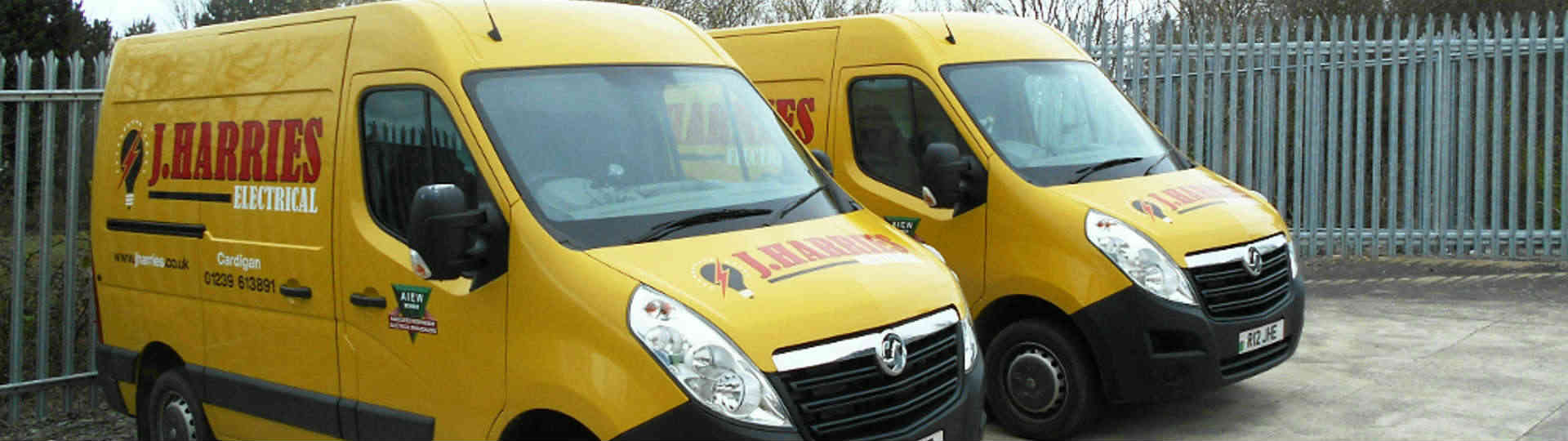 electrical supplies cardigan delivery vans