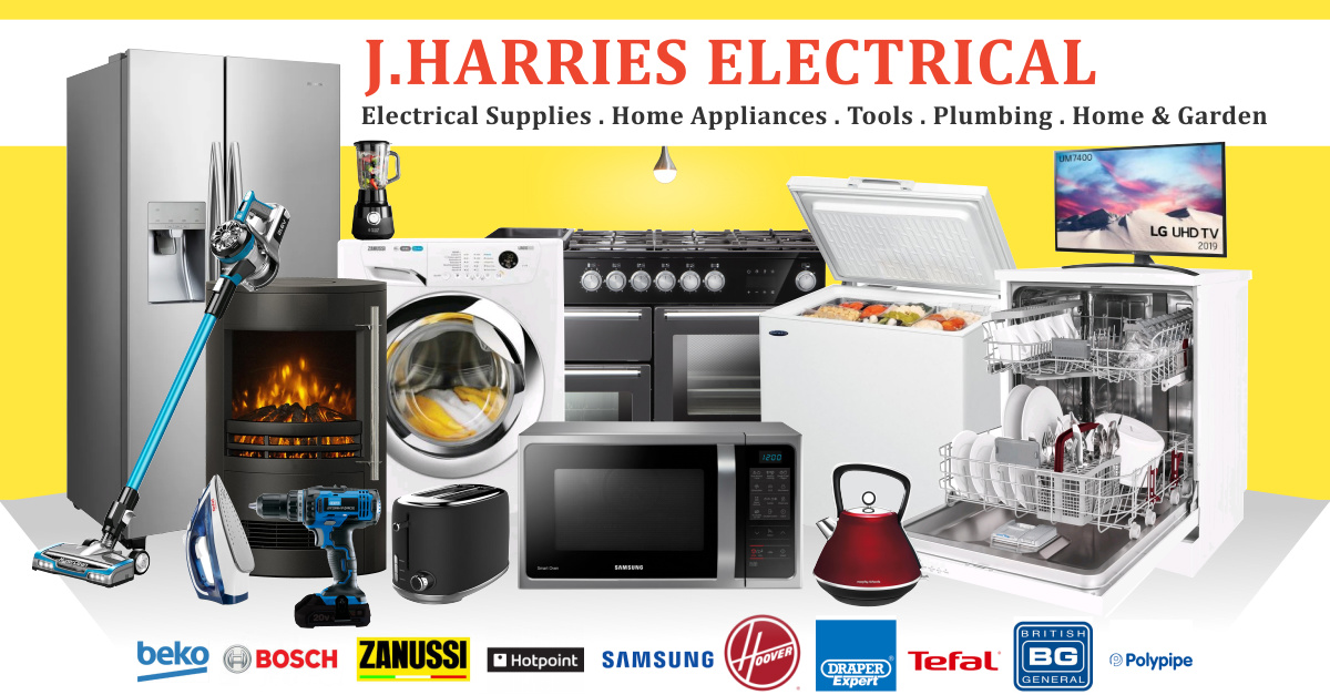 J Harries Electrical Supplies Domestic Appliances Cardigan Uk