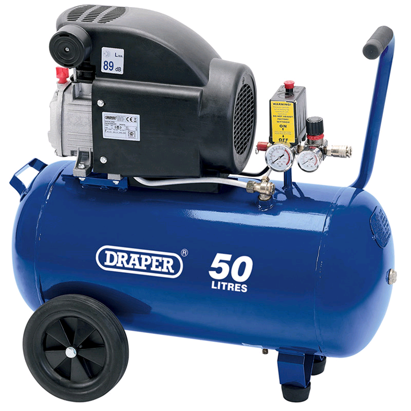Draper 50Ltr 2HP Air Compressor