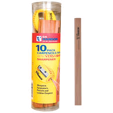 Advent Carpenters Pencil (Tub 10) + Sharpener