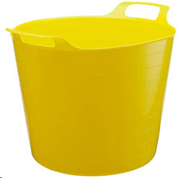 Draper 26L Yellow Flexi Bucket