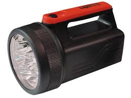 LIGHTHOUSE L/HT996LED 8 LED SPOTLIGHT C/W 6V BATTERY 996