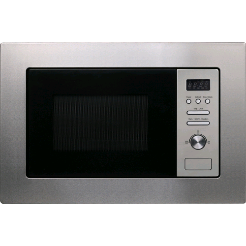 Statesman Integrated Microwave 800w Stainless Steel