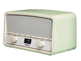 Goodmans Heritage Vintage Style DAB Radio Green