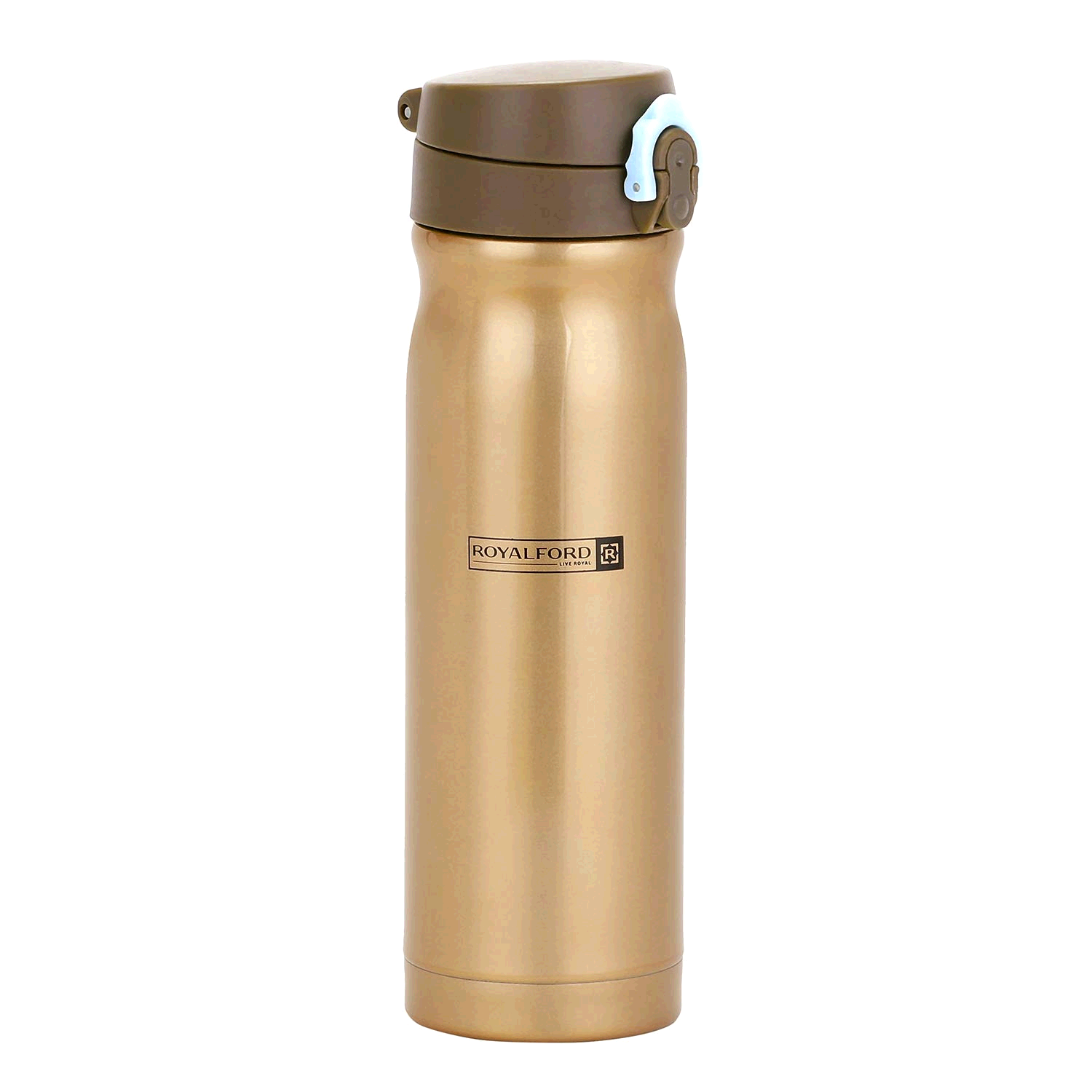 Royalford 500ml Insulated Stainless Steel Water Vacuum Thermo Bottle Flask Double-Walled for Outdoor Sports Hiking Running