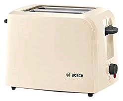 Bosch 2 Slice Village Toaster Cream