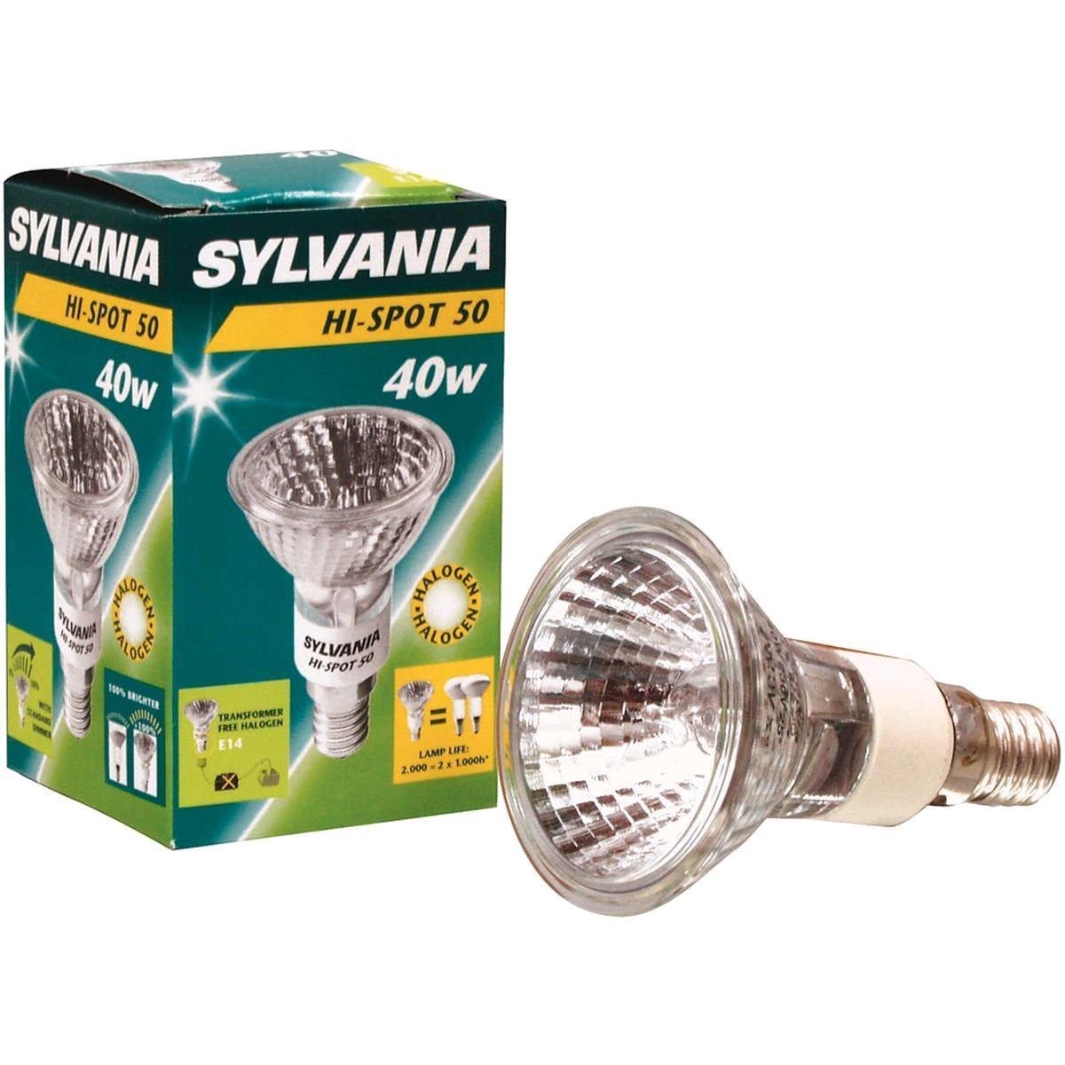 Lamp Halogen HiSpot 40w SES R50