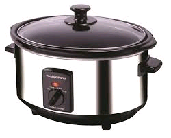 Morphy Richards Slow Cooker 3.5L Stainless Steel