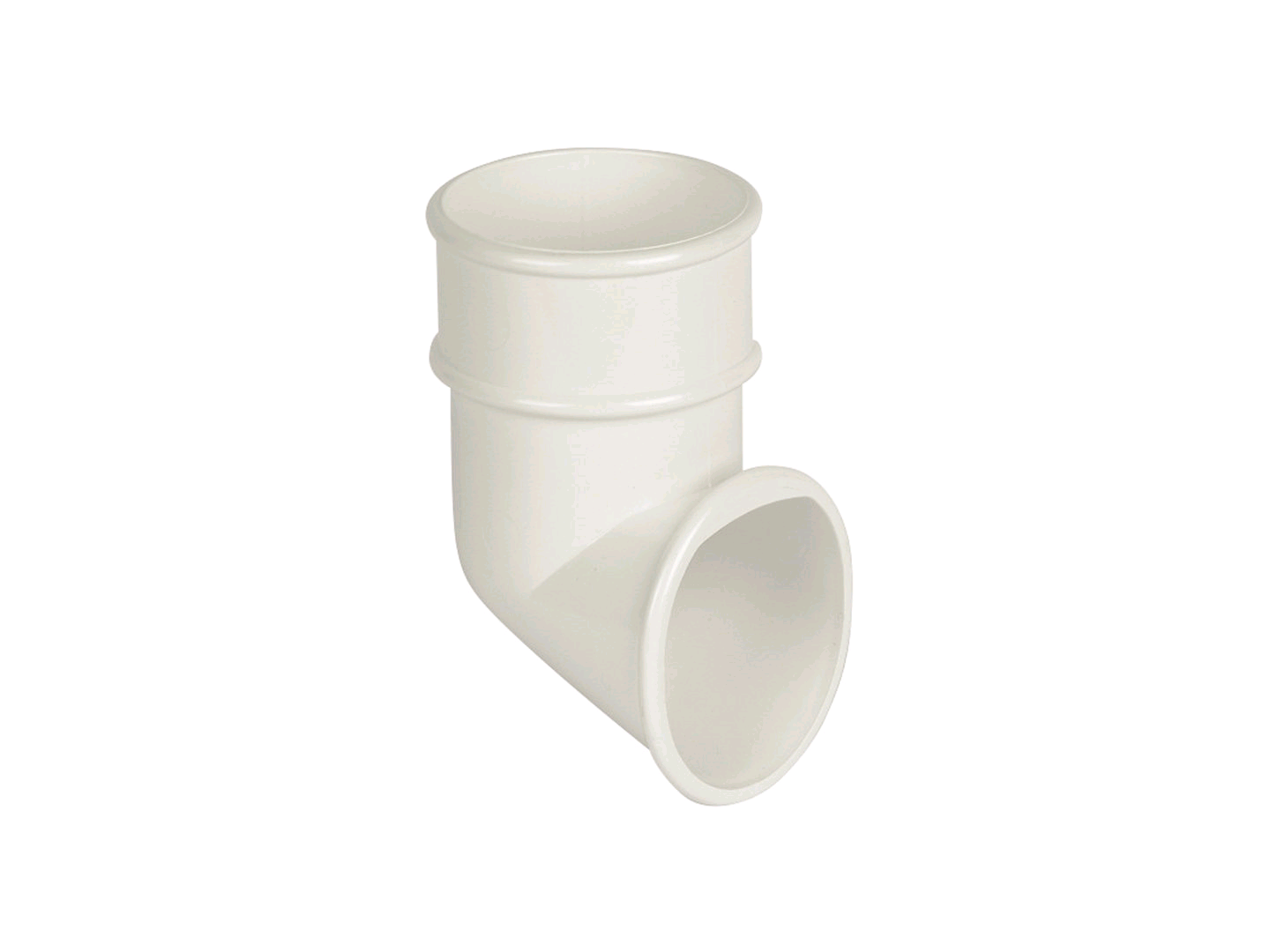 Floplast 68mm Downpipe Shoe White