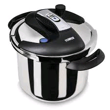 TOWER 6L/22cm S/Steel Pressure Cooker
