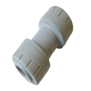 Polypipe Polyplumb 15mm Straight Coupler