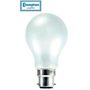 Crompton 10024 Lamp GLS Pearl BC 60w
