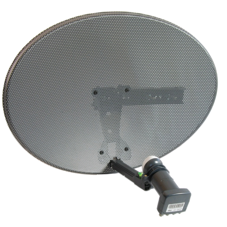ACE Satellite Dish and Quad LNB