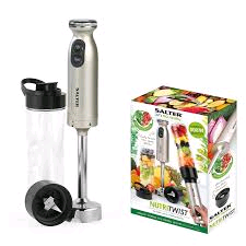 Salter 500w Nutri Twist Blender 2 in 1