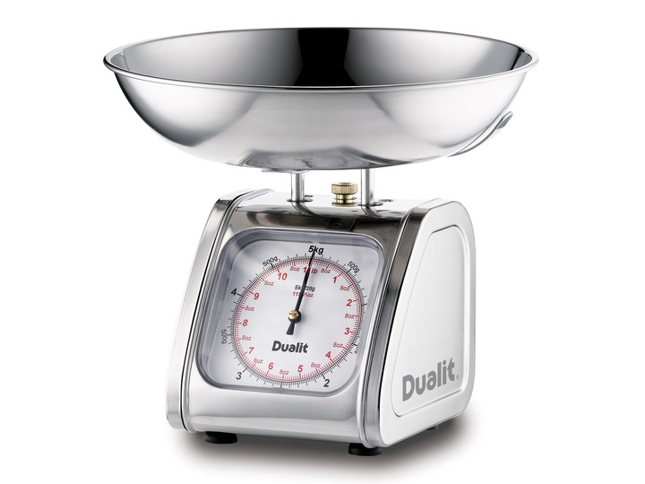 Dualit Scales 5kg - Large Dualit Robust Kitchen Scales