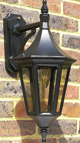 JCC Java Standard Downward Lantern Black