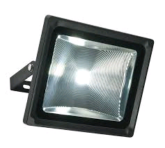 Saxby Olea 51w Led IP65 Floodlight in Black