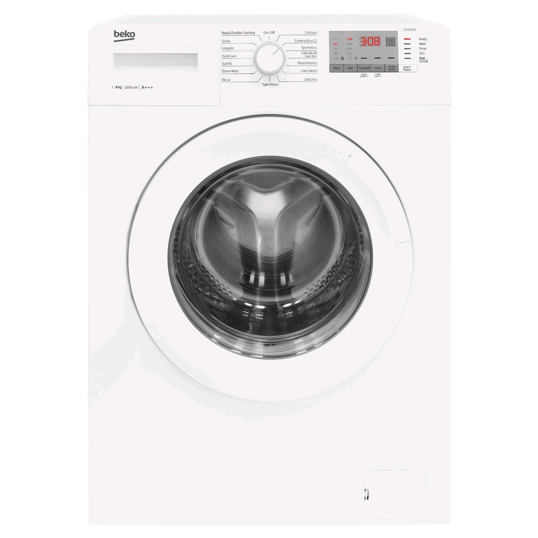 Beko Washing Machine 8kg 1200 Spin Speed