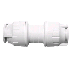 Polypipe PolyFit Straight Coupler 22mm