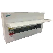 Niglon 21Mod 17Way Distribution Board 100A DP Isolator Inc SPD