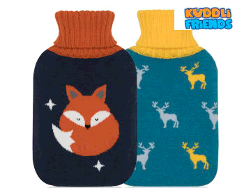 Kuddli Friends Hot Water Bottle Mens Knitted Collection 878/819