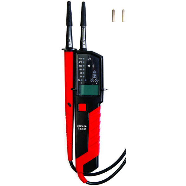 TIS Voltage & Continuity Tester with LCD