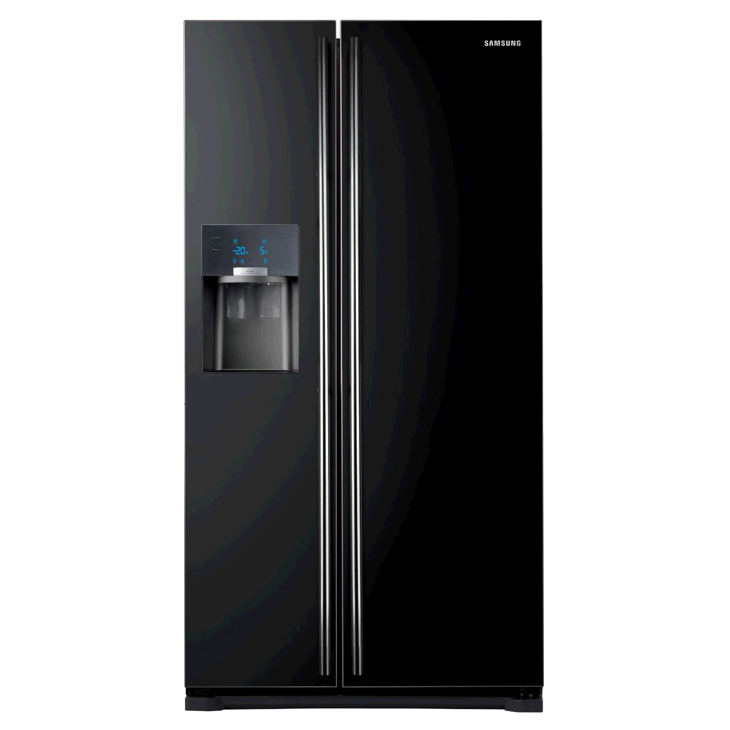 Samsung RS7567THBC American Style Frost Free  Fridge Freezer Gloss Black 5 Year Promotional Warranty