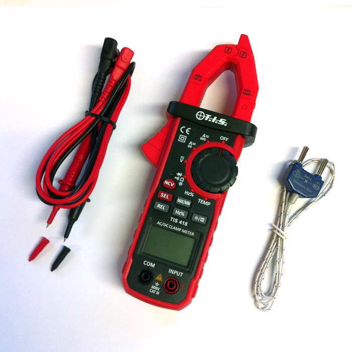 TIS 600A Auto Ranging AC/DC Clampmeter