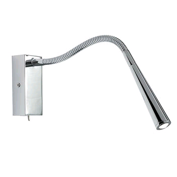 Saxby Madison 1w LED Wall Lamp Satin Nickel