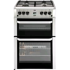 Beko 60cm Gas Cooker Silver LPG Convertible (Jets not included)