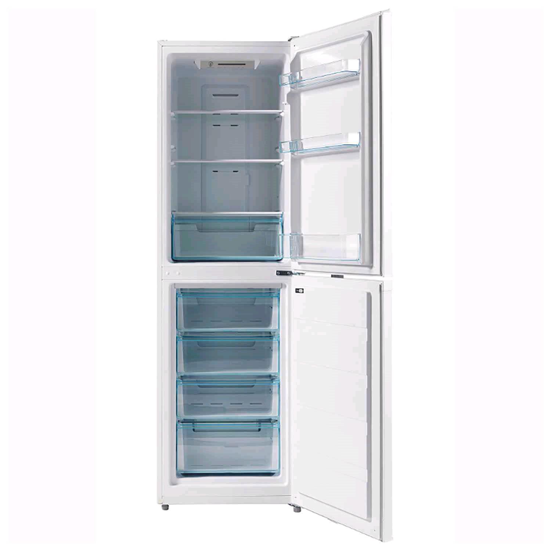 LEC Frost Free fridge freezer H180 W54.5 White
