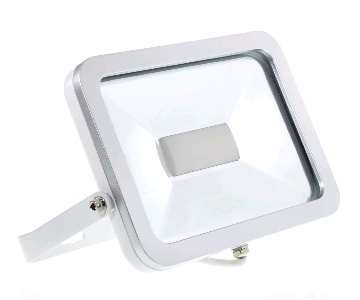 Niglon 30W Polycarbonate Flood LED White IP65 Warm White