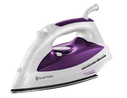 Russell Hobbs Steam Iron Steamglide Purple/White 2400w