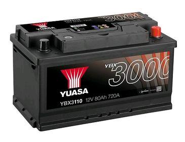 Yuasa SMF 12V Battery 80Ah 720A