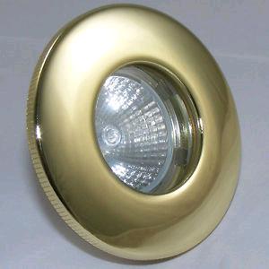 JCC Fireguard LV Plug & Play Downlight Brass