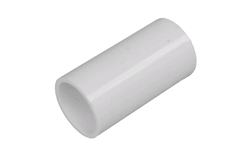 Falcon Conduit Coupler 25mm White