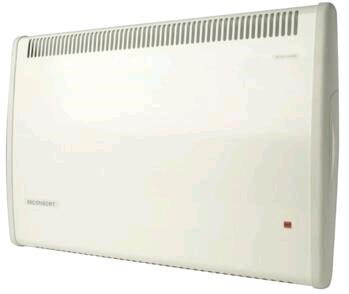 Consort Panel Heater 750W Splashproof Wireless Dove White