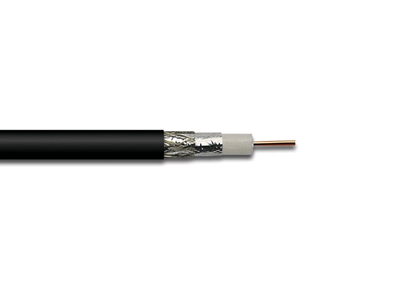 Satellite Cable Black (Per Mtr)