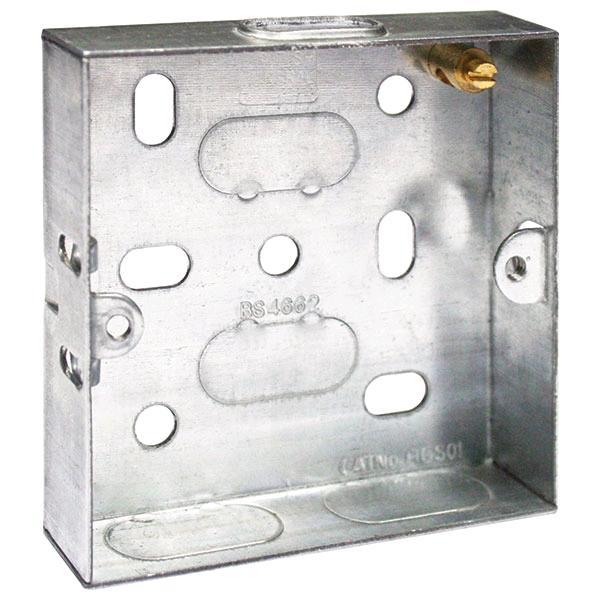Knock Out Metal Box 1gang 16mm