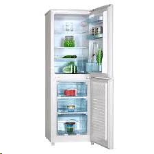 Ice king Fridge Freezer Manual H1450 W480 D530 White 50/50