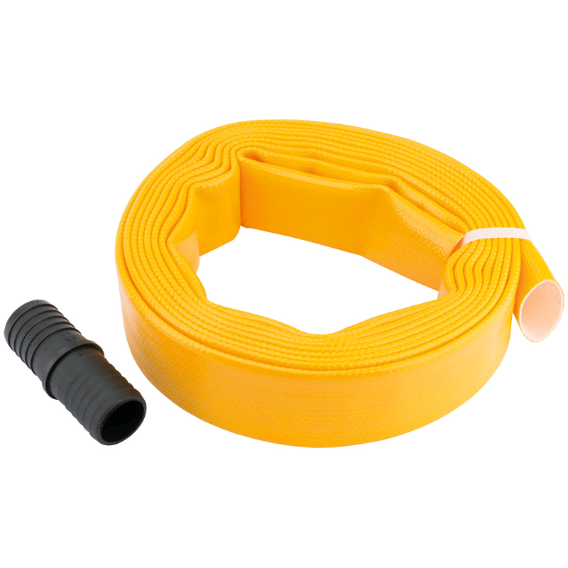 Draper Layflat Hose, supplied with Adaptor (5M x 32mm)