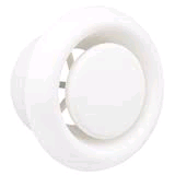"Manrose 4"" 100mm Circular Air Diffuser"
