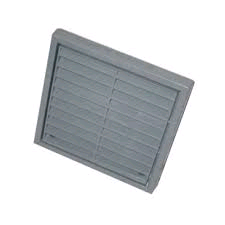 Manrose Fixed Grill 4in/100mm Grey