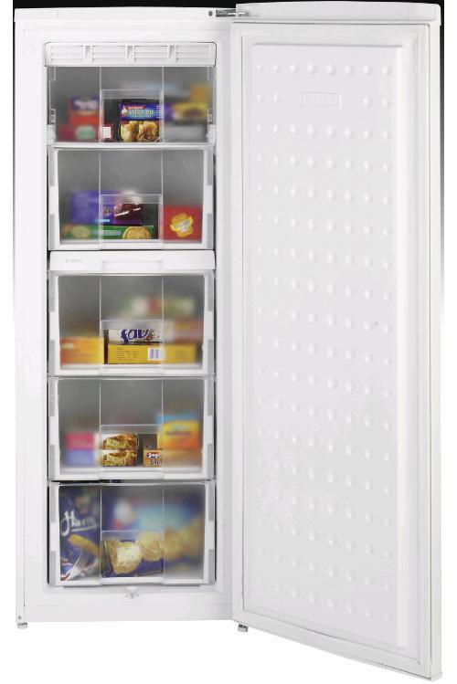 Beko Upright Freezer Frost Free 7cuft A+ H1455 W545 D595