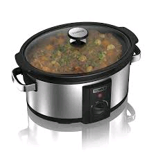Tower 6.5 Litre Slow Cooker Stainless Steel