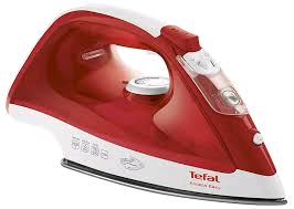 Tefal Access Steam Iron 2100w Ceramic Plate RED